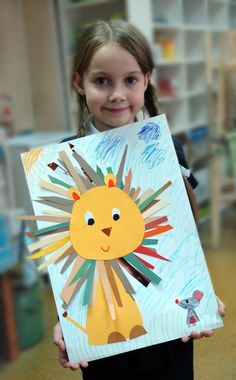 – Top Trends for tweens pom crafts crafts crafts Spring Crafts For Kids, Crafts For Kids To Make, Art For Kids, Kids Crafts, Kindergarten Art Lessons, Montessori Kindergarten, Preschool Arts And Crafts, Art N Craft, Lion Craft