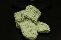 Knifty knitter baby sock pattern
