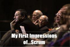 My First Impression of Scrum
