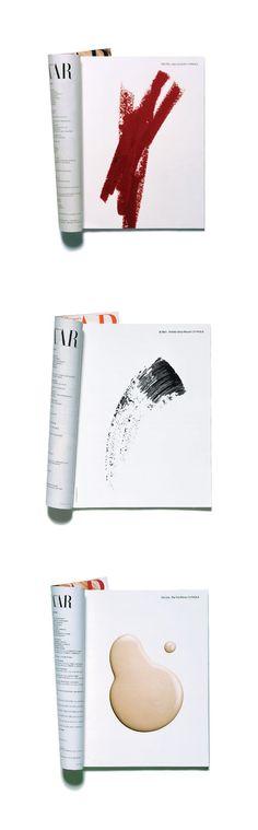Irving Penn still lifes for CLINIQUE as seen in 90s Harper's Bazaar | Creative Director Jennifer Waverek.