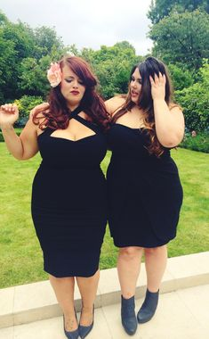 Curvy Girl Little Black Dress