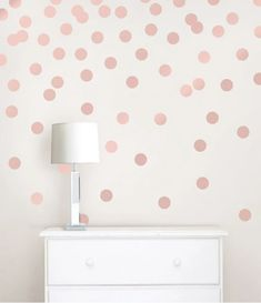 Your favorite confetti dots now available in rose gold! #windowfilmworld #windowfilm #wallpaper #walldecor #homedecor #homedesign