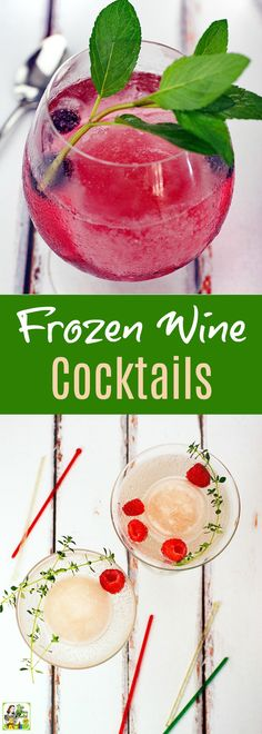 Looking for unique frozen wine drink recipes or blender cocktail recipes for your cookout party? Click to learn how to make Frozen Wine Cocktails. Get recipes for both a skinny wine cocktail and a slushy wine cocktail. These Arbor Mist Frozen wine cocktai