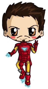 Ironman Chibi by IcyPanther1.deviantart.com on @deviantART
