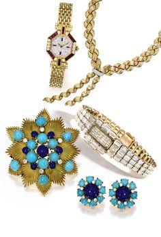 Vintage jewelry auction Sotheby's New York Cartier Van Cleef & Arpels Vacheron Constantin