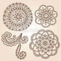 stock-illustration-19227947-henna-mehndi-tattoo-mandala-flowers-vector-elements_large.jpg 380×380 pixels