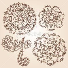 stock-illustration-19227947-henna-mehndi-tattoo-mandala-flowers-vector-elements_large.jpg 380×380 pixels
