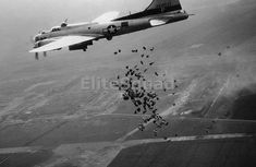 American Drops food over Schiphol Airport during operation Chow Hound to relieve Holland from the famine at the end of WWII, 1945 B 17, Military Jets, Military Aircraft, New Orleans Museums, Rare Historical Photos, Air Festival, Ww2 Photos, Military Operations, Vintage Airplanes