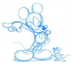 Original Disney Drawing