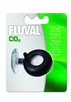 Fluval Ceramic CO2 Diffuser for 88 g Kit - ON SALE! http://www.saltwaterfish.com/product-fluval-ceramic-co2-diffuser-for-88-g-kit