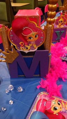 Shimmer and Shine Birthday Party Ideas | Photo 1 of 9
