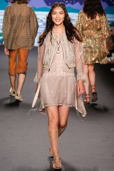 New York Fashion Week Spring 2014 RTW: Anna Sui | I Should Have Been A Blogger