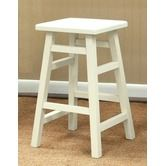 Found it at Wayfair - O'Malley Pub Counter Stool in Antique White