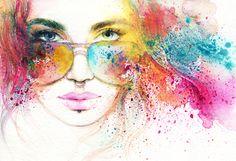 mujer-gafas-de-colores