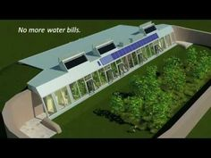 CGI plan for an earthship style underground house
