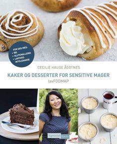 Kaker og desserter for sensitive mager lavFODMAP Food Map, Low Fodmap, Food And Drink, Gluten Free, Baking, Breakfast, Recipes, Glutenfree, Patisserie