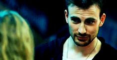 That time he smiled like this: | 32 Times Chris Evans Was Too Handsome For His Own Good