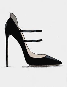Guillaume Bergen Fashion Heel Design