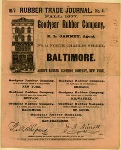 Goodyear Rubber Co.'s rubber goods – Rubber Trade Journal No. 4 (1877)