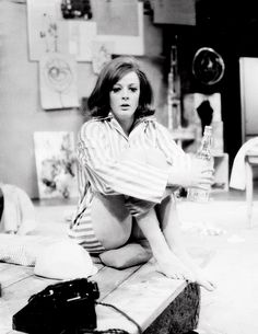Maggie Smith as Clea - Black Comedy (1965)