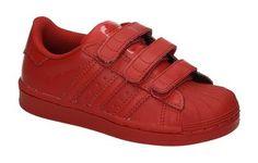 adidas superstar rood kinder
