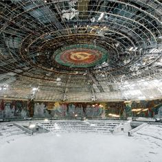 Abandoned Soviet architecture photographed by Rebecca Litchfield