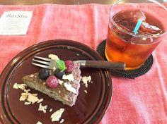 ロータルトとルイボスティー #vegan #vegetarian #vegansweets #vegankobe #kobe #ヴィーガン #ベジタリアン #ヴィーガンスウィーツ #動物性不使用 #菜食 #神戸 (The PINK WEED cafe)