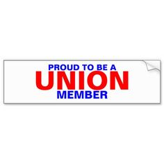 Labor Union, Car Sit, Honor Roll, Bumper Stickers, Adhesive, Reflection, Entertaining, Gift, Bumper Stickers For Cars
