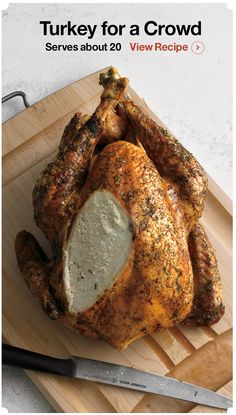 Cooking for a crowd? View this recipe! I Crate and Barrel