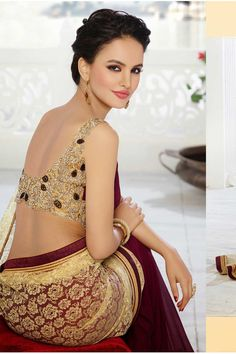 Beautiful saree blouse