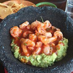 Spicy Shrimp Guacamole.