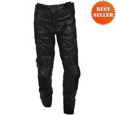 Joe Rocket Blaster 2.0 Leather Pants - Motorcycle Pants - Jafrum Motorcycle Fashion, Motorcycle Pants, Motorcycle Style, Parachute Pants, Leather Pants, Clothing, Men, Shopping, Leather Jogger Pants