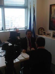 Συνέντευξη στην Bulgaria A TV [14/3/2012]