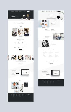 jpg by Mik Skuza - Modern Website Design Moder - Website Design Inspiration, Website Design Layout, Wordpress Website Design, Web Layout, Layout Design, Graphisches Design, Web Design Tips, Page Design, Web Design Trends