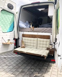 fold down couch camper van The post Biggest Van Life Mistakes appeared first on Woman Casual - Camping Ford Transit Connect Camper, Transit Camper, Bus Camper, Camper Trailers, Travel Trailers, Camper Life, Rv Campers, Camping Car Van, Casas Trailer