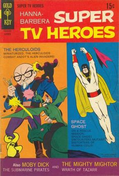 Cover for Hanna-Barbera Super TV Heroes (1968 series) #7