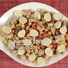 Garbanzo Salad, Emperor, Recipes