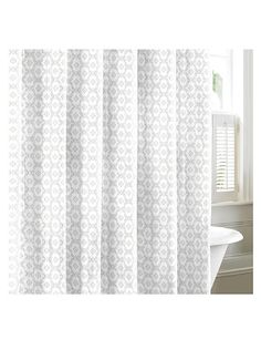 Hotel Collection Bath Accessories, Waffle Shower Curtain   Shower Curtains  U0026 Accessories   Bed U0026 Bath   Macyu0027s | Our House | Master Bathroom |  Pinterest ...