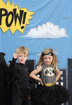 fun kid's superhero birthday