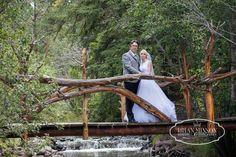 Mandi and Chris' Johnson River Retreat Wedding Greer Arizona Brian Minson Wedding Photography April Weston and Jess Wilson  http://MinsonWeddings.com/ Brian Minson — with Shaneen Elefante at Johnson River Retreat, Greer, Az.