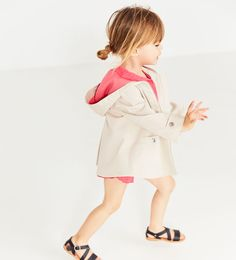 ZARA - KIDS - TRENCH COAT WITH CONTRASTING LINING