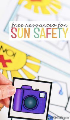 During the summer, all kids want to have fun outside. Before they do, it is important for them to learn sun safety! Use the free printables to teach sun safety to your students. The free printables will all help the students see the importance of staying safe outside in the sun. Plus, they will learn and strengthen a few skills like reading and writing. Get your free printables today and start learning about sun safety! #sunsafety #kindergarten #learn #teach #freeprintable #summer