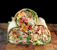 "Jam-Packed Loaded Chicken Salad (or Tuna Salad) with Greek Yogurt Garlic Ranch ""Mayo"" Healthy Cooking, Healthy Snacks, Healthy Eating, Cooking Recipes, Healthy Recipes, Skinny Recipes, What's Cooking, Healthy Options, Tuna Fish Recipes"