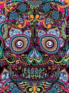 I present to you, my book of skulls. Here you'll find all kinds of skull related stuff. Mexican Skulls, Mexican Art, Tattoos Pinterest, Sugar Skull Art, Sugar Skulls, Foto Transfer, Day Of The Dead Skull, Skull Wallpaper, Candy Skulls