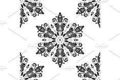 Oriental vector pattern with damask, arabesque and floral elements. Damask Patterns, Arabesque, Vector Pattern, Abstract Backgrounds, Organic, Graphic Design, Floral, Flowers, Flower