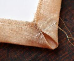 Framing needlework