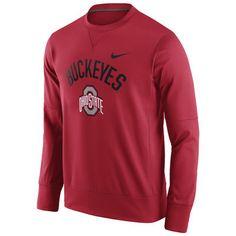 Ohio State Buckeyes Nike Circuit Sweatshirt - Scarlet