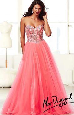 mac duggal   Mac Duggal - 48052H Dress
