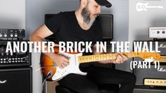 Brick In The Wall, Guitar Parts, Instrumental, Pink Floyd, Awesome, Cover, Youtube, Instrumental Music, Youtubers