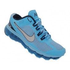 6741b3f20f2 Tênis Nike Air Max 2013 nova cor Azul Piscina unissex Preço  R  260